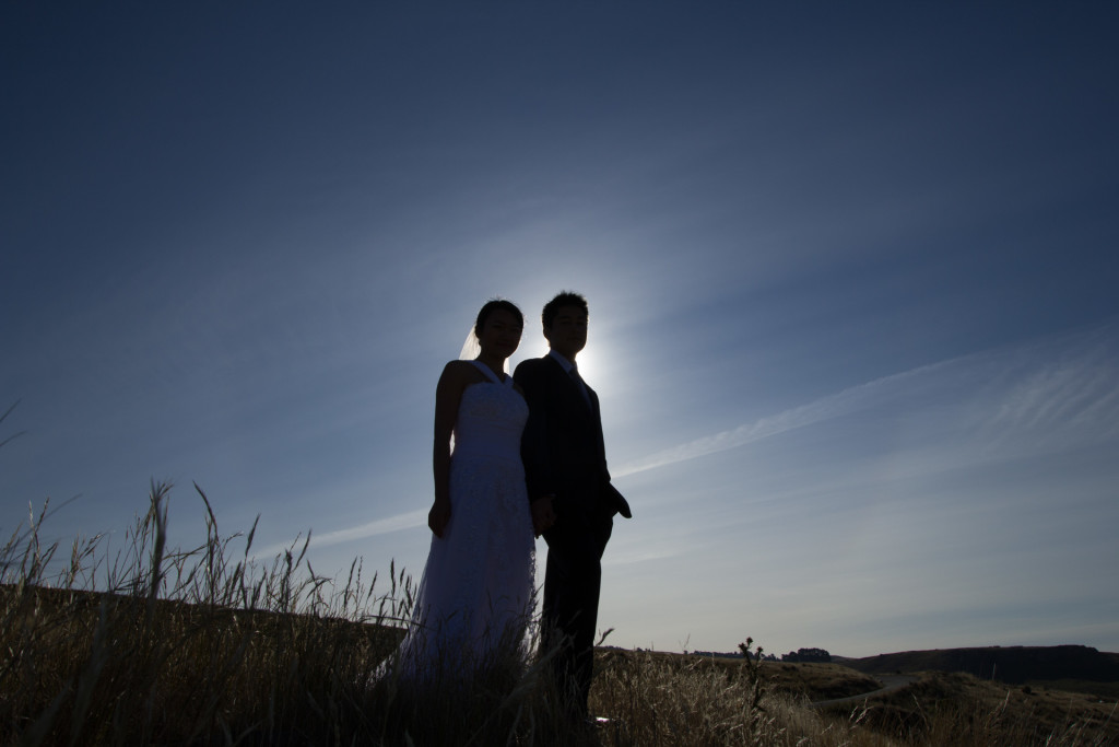 Port Hill Christchurch, Summit Road Wedding