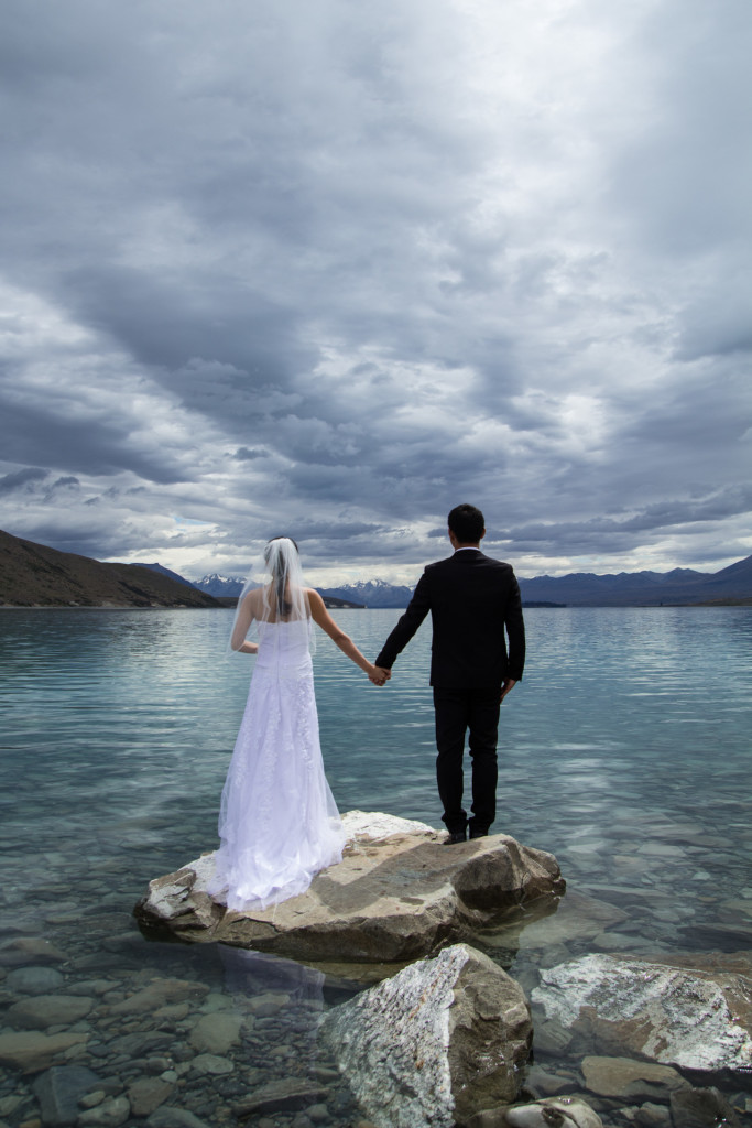 新西兰特卡波婚纱照